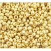 Ponybead 6/0 Metallic Light Gold Loose Solgel